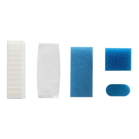 For Thomas 787203 Vacuum Cleaner Accessories HEPA Filter Filter Set For Thomas 787203 Vacuum Cleaner Accessories HEPA Filter Filter Set Features:Easy to install and useEffectively keep household dust.Replacing filter on a regular basis will help your machine work wellMade of high quality material, durable and practical to useFiltration of micro-dust can filter the exhaust air and protect the motor of the vacuum cleanerMade of qualified material, it can contain small dust.Low resistance to air, favoring the operation of the air cleaner.The structure of the pore and the surface area can be brought into contact with the surrounding air, so it can absorb much more dust.Package includes:  5 X Filter