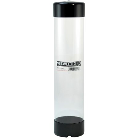 """Viewtainer Slit Top Storage Container 2.75""""X12""""-Black - image 1 of 1"""