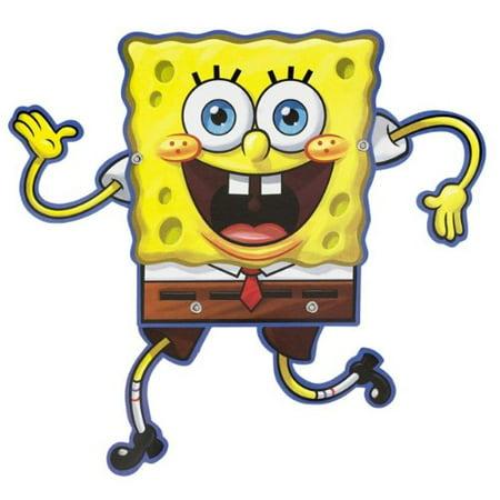 Amscan Silly SpongeBob Birthday Party Postcard Invitations 8 Piece Yellow Brown