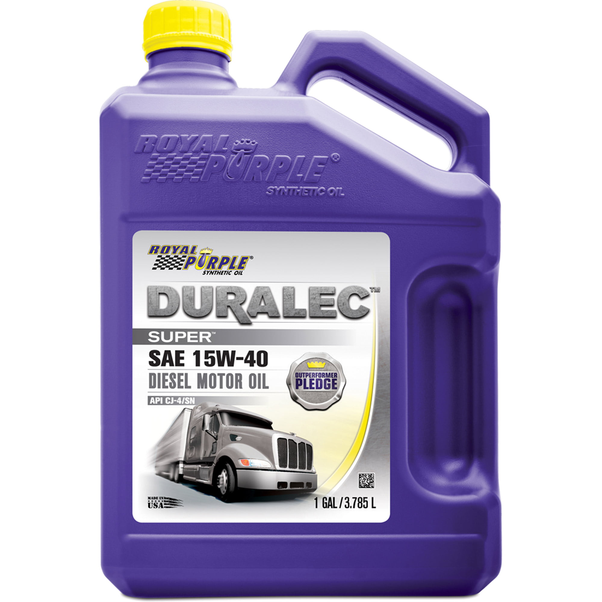 15w40 Diesel Oil >> Royal Purple 15w 40 Synthetic Motor Oil 1 Gal Walmart Com