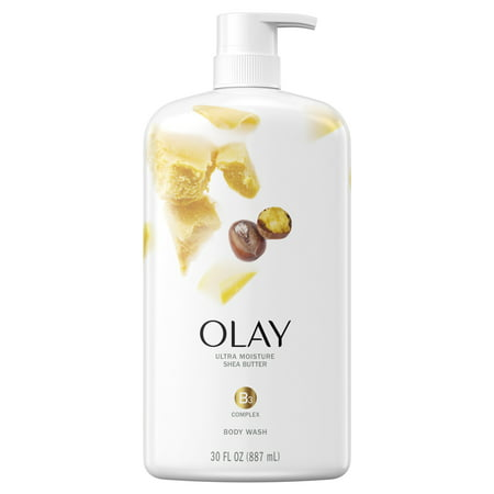 (2 pack) Olay Ultra Moisture Shea Butter Body Wash, 30 oz