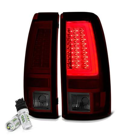 VIPMOTOZ Premium LED Tail Light Lamp For 1999-2002 Chevy Silverado & 1999-2006 GMC Sierra 1500 2500
