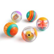 Bright Starts Shake & Spin Activity Balls Toy, Ages 6 months +