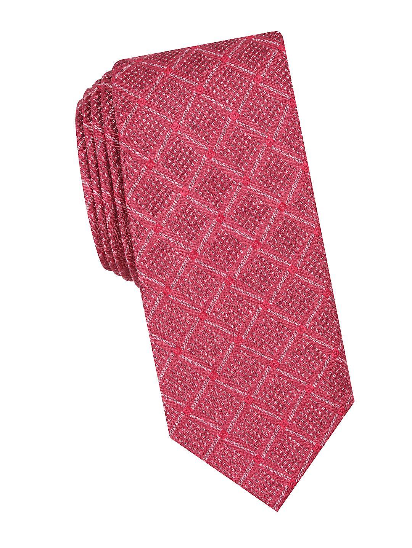 Bradford Check Slim Tie