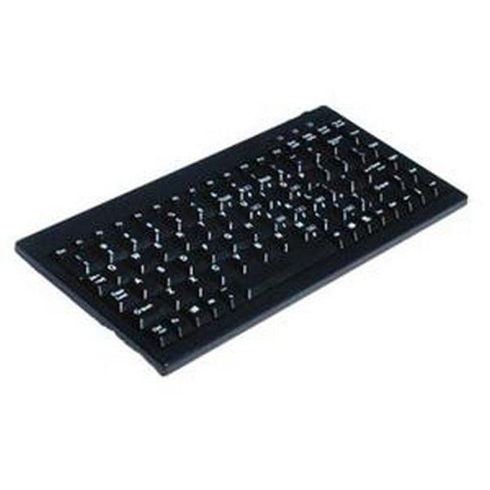 Solidtek KB595BU Mini Keyboard USB QWERTY 88 Keys Black