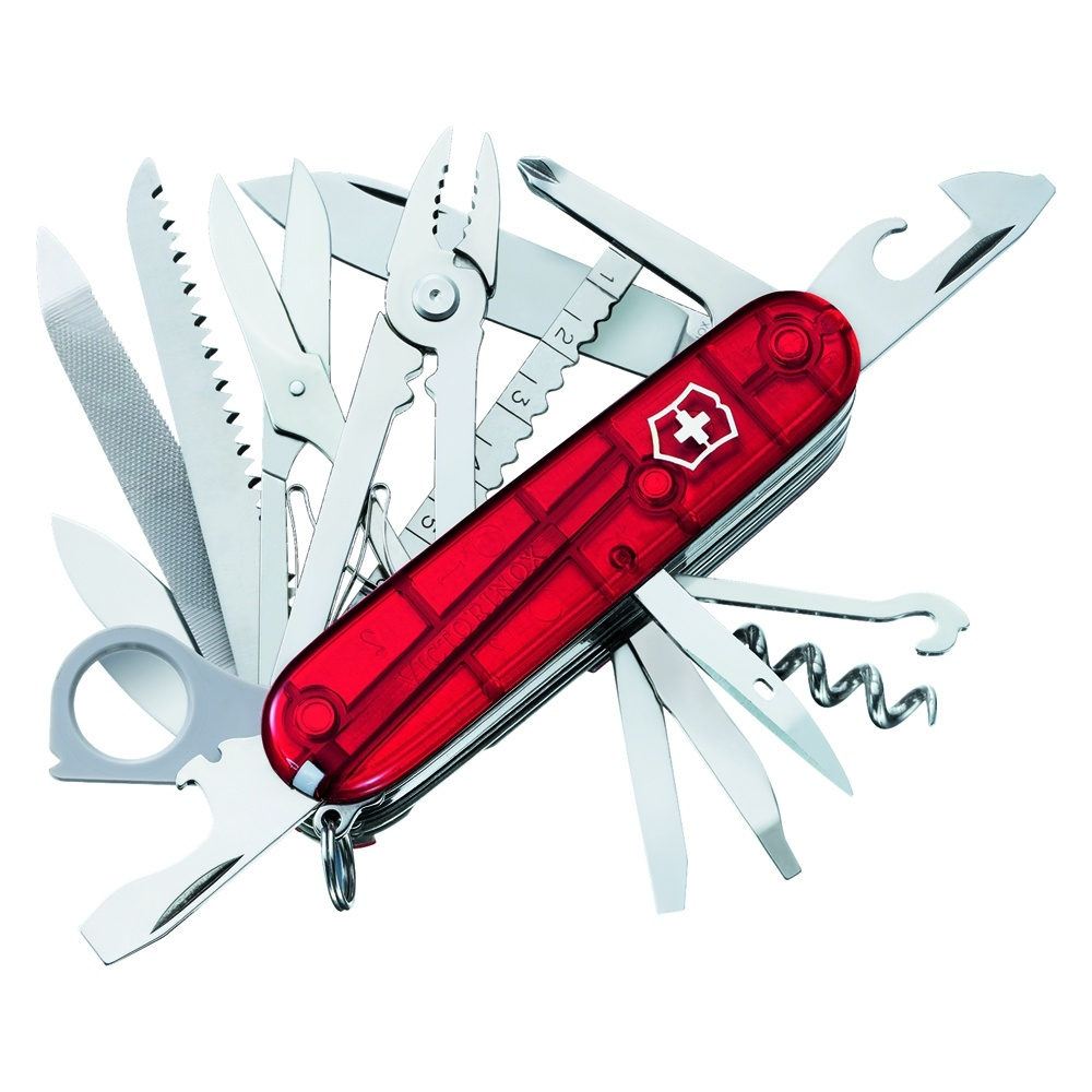 Swiss Army SwissChamp, Ruby  - (Includes Paring Knife)