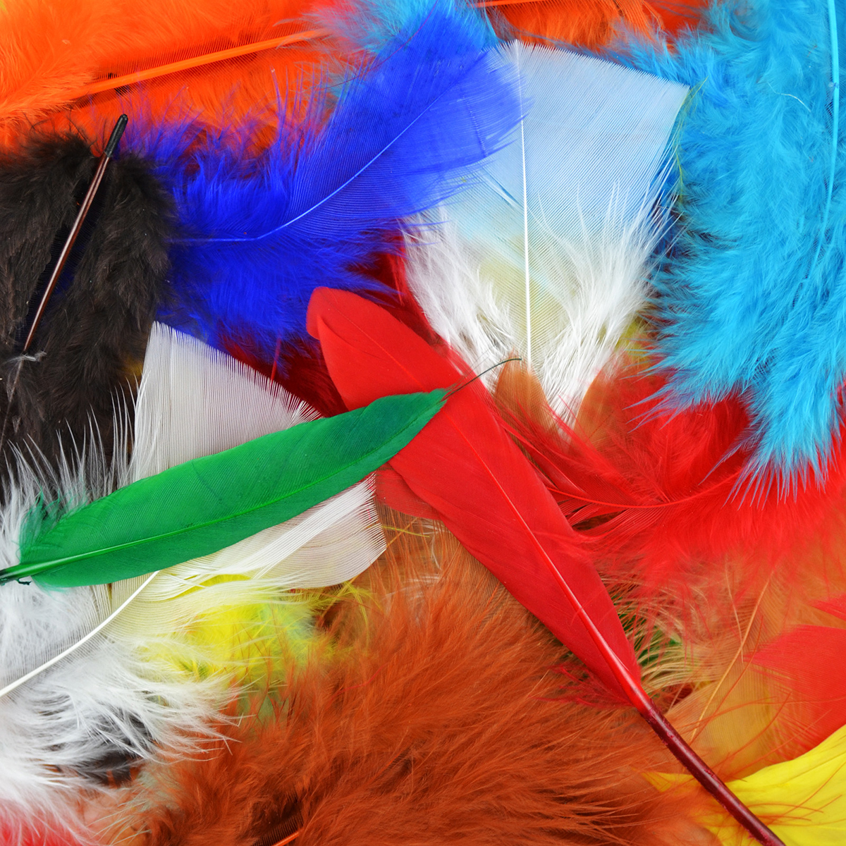 Packaged Feathers 71g-Assorted Colors - image 2 de 2
