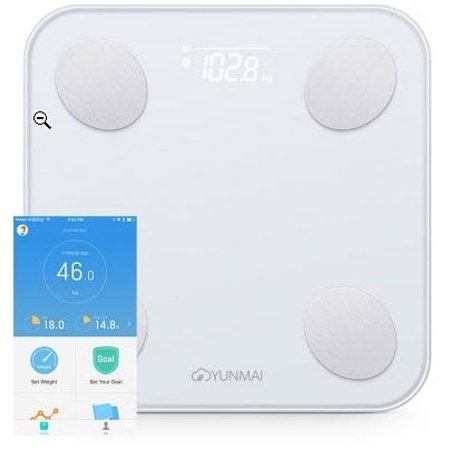 Spring Balance Scale - YUNMAI Mini 2 Balance Smart Body Fat Scale - White