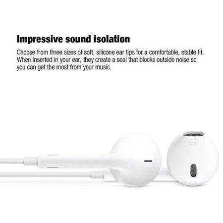 E-Universal Latest New Earphones with Microphone Premium [2 Pack] Stereo - image 3 de 7