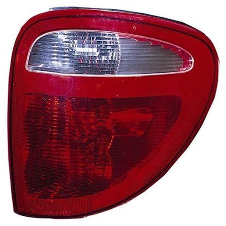 Go-Parts » 2004 - 2007 Dodge Grand Caravan Rear Tail Light Lamp Assembly / Lens / Cover - Right (Passenger) Side 68241334AA CH2801157 Replacement For Dodge Grand Caravan ()