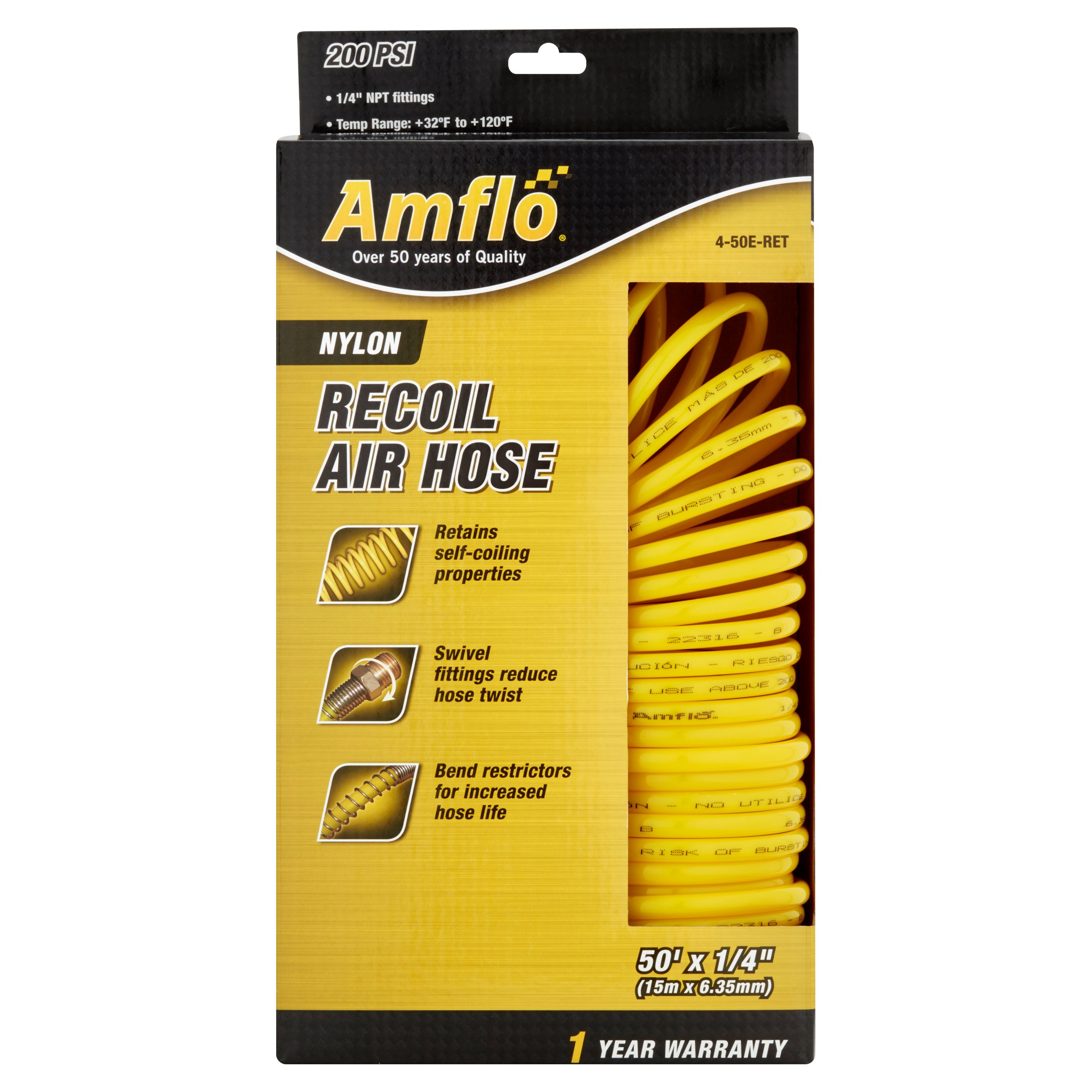 Amflo Nylon Recoil Air Hose