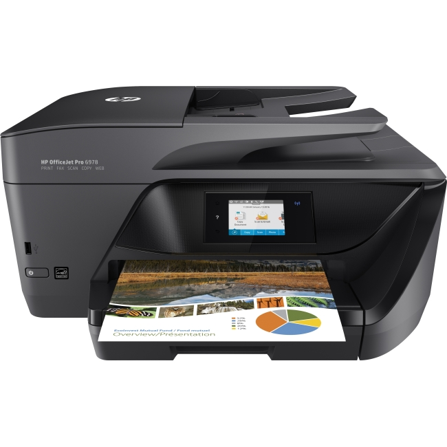 HP OfficeJet Pro 6978 All-in-One Multifunction Printer/Copier/Scanner/Fax Machine