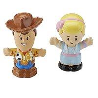 Little People Disney Toy Story Woody & Bo Peep Figure 2-Pack