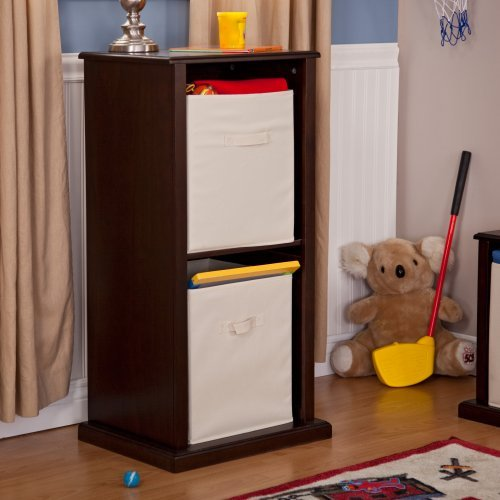 Buy 2 and Save! Classic Playtime Storage Tower - Espresso