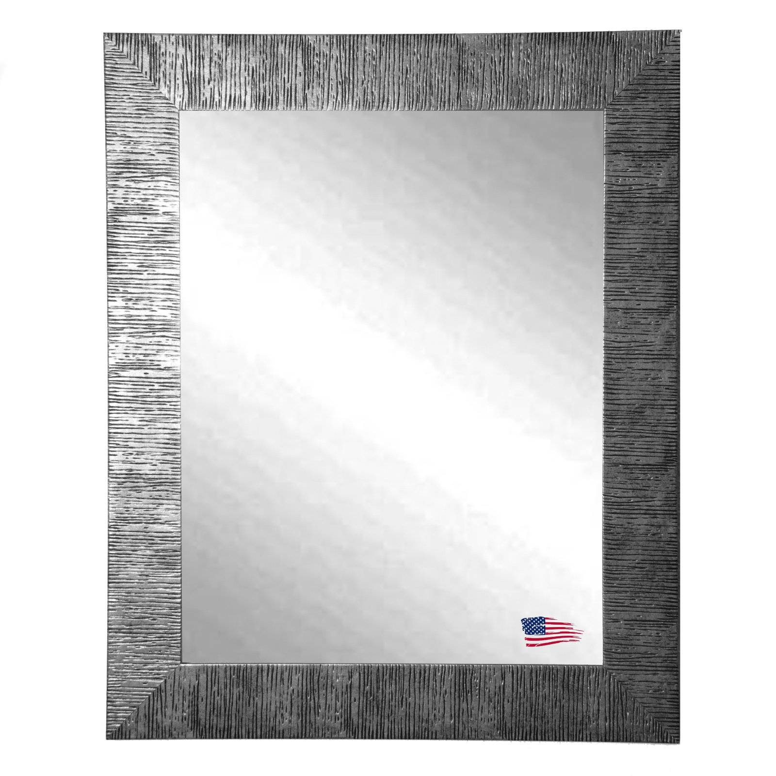 Rayne Mirrors Silver City Wall Mirror