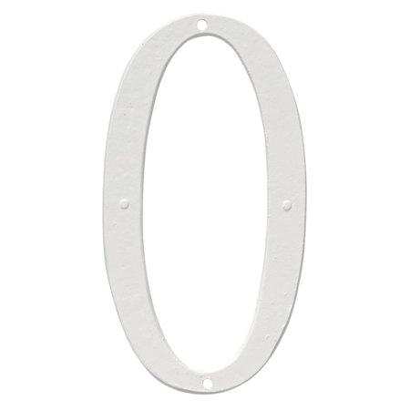 Montague Metal Products 6 in. Standard House Number