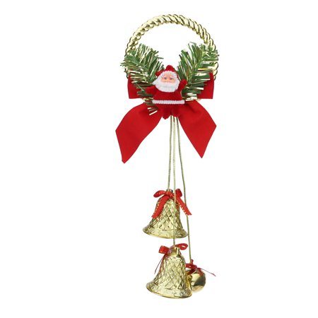 Classroom Door Decoration Ideas For Christmas (Iuhan Christmas ornaments cute welcome santa Bell xmas door hanging decoration)