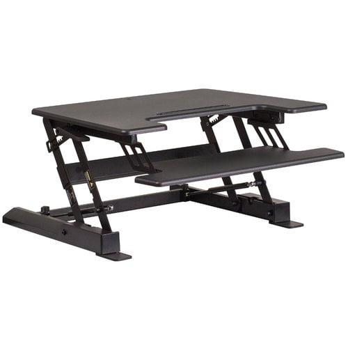 Symple Stuff Modern Adjustable Standing Desk Converter