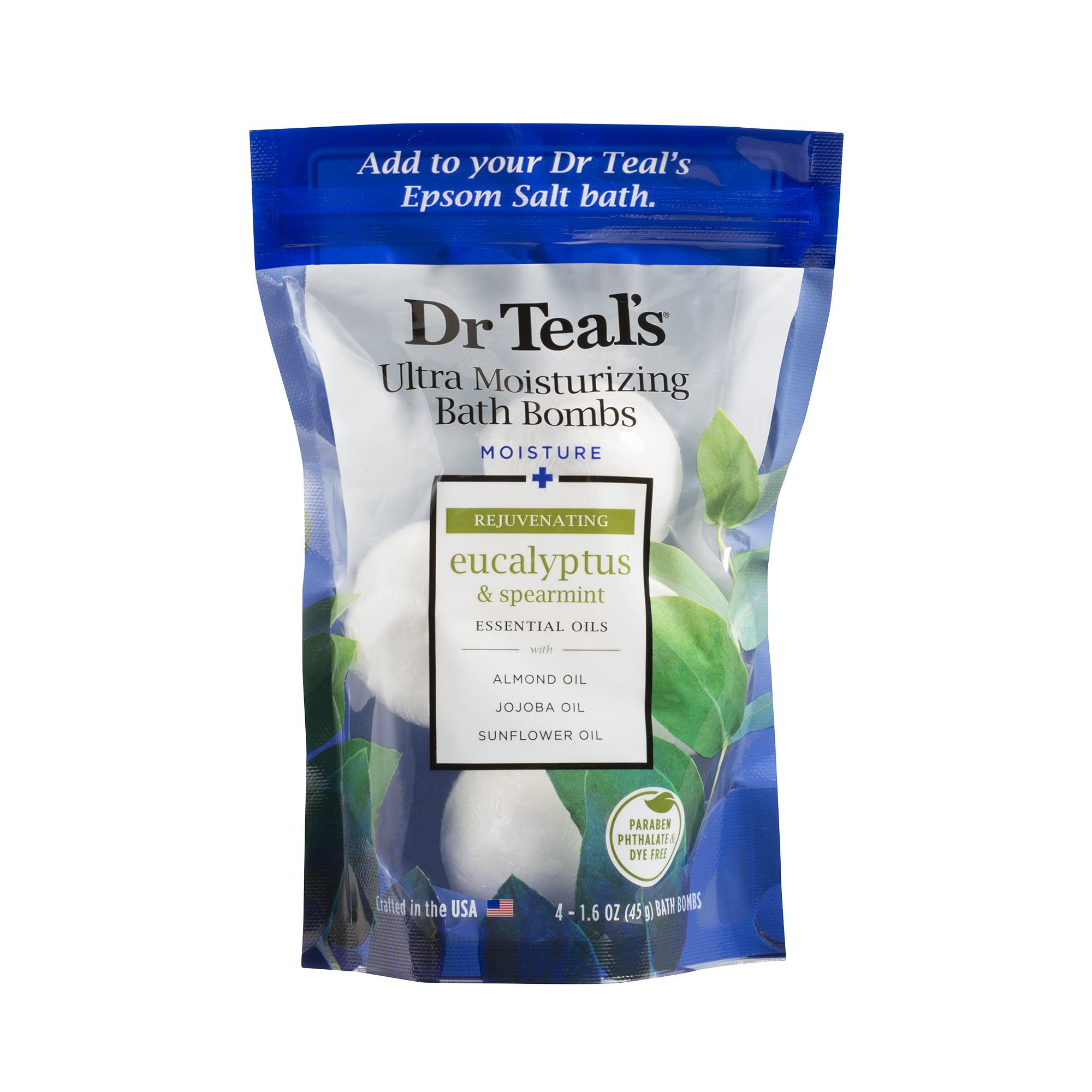 Dr Teal's Ultra Moisturizing Bath Bombs - Eucalyptus