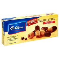 Bahlsen Dark Chocolate Waffeletten, 3.5 oz (Pack of 12)