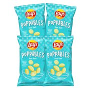 Lay's Poppables Sea Salted Crispy Potato Chips (5 oz., 4 ct.)