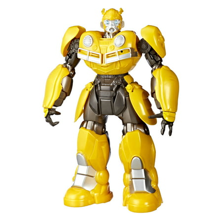 Transformers Bumblebee: DJ Bumblebee Singing and Dancing Bumblebee - Bumblebee Costume Transforms Into Car