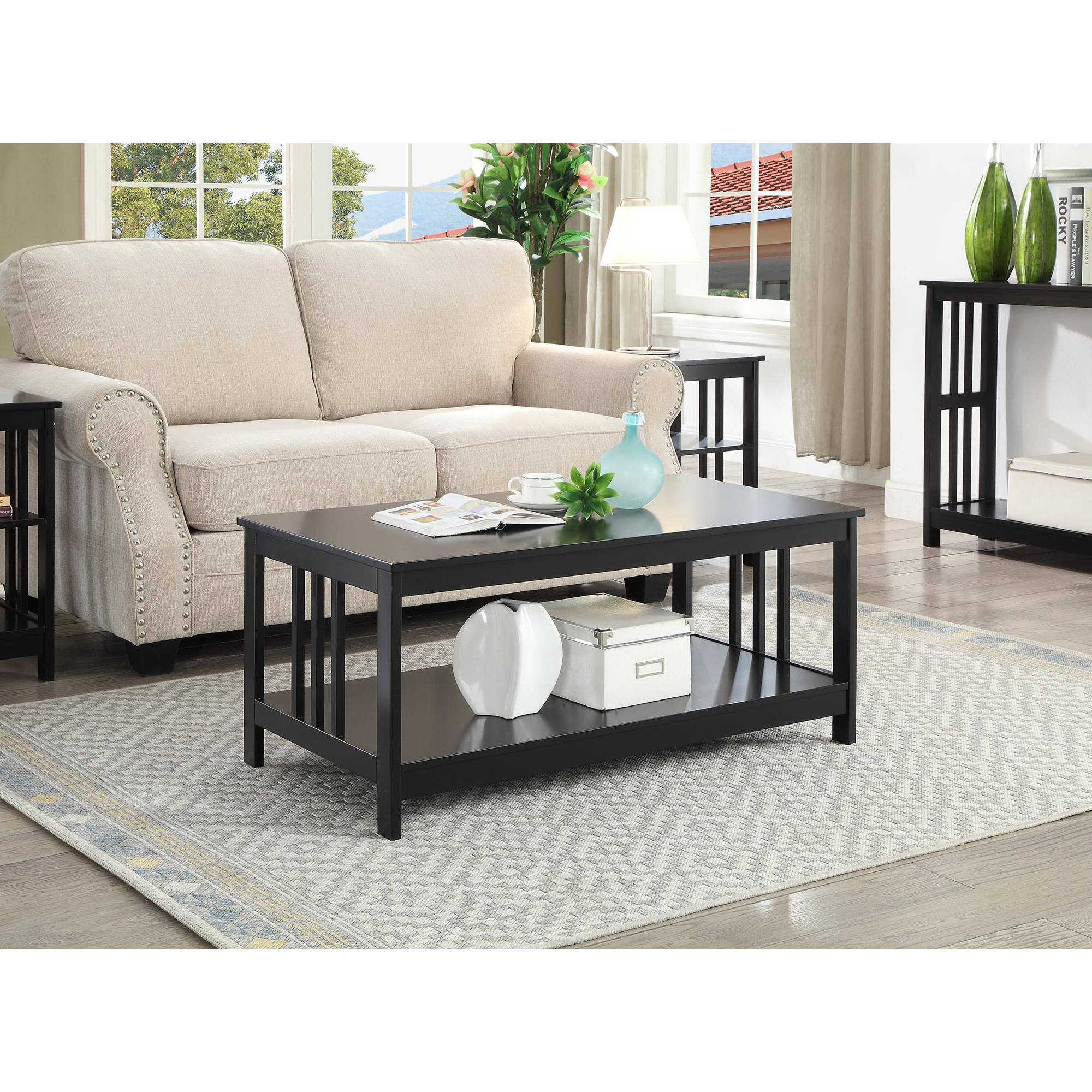 Convenience Concepts Mission Coffee Table, Multiple Colors by Convenience Concepts