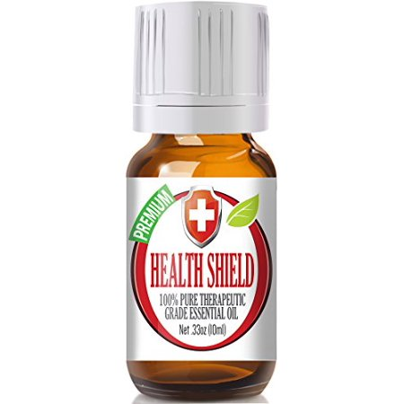 Healing Solutions   Health Shield  Compare To Thieves Oil By Young Living  Four Thieves By Edens Garden  100  Pure  Therapeutic Grade Essential Oil Blend   10Ml