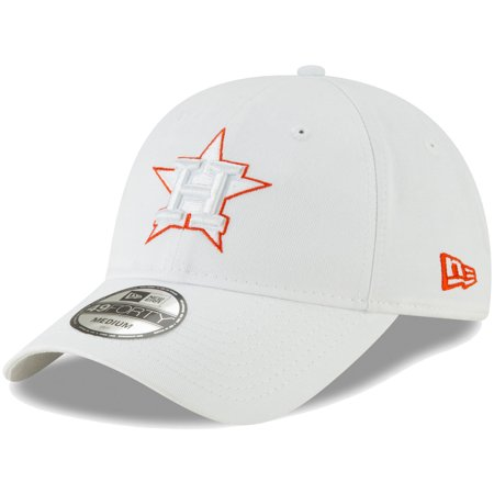 Houston Astros New Era Core Pop 49FORTY Fitted Hat - White ()