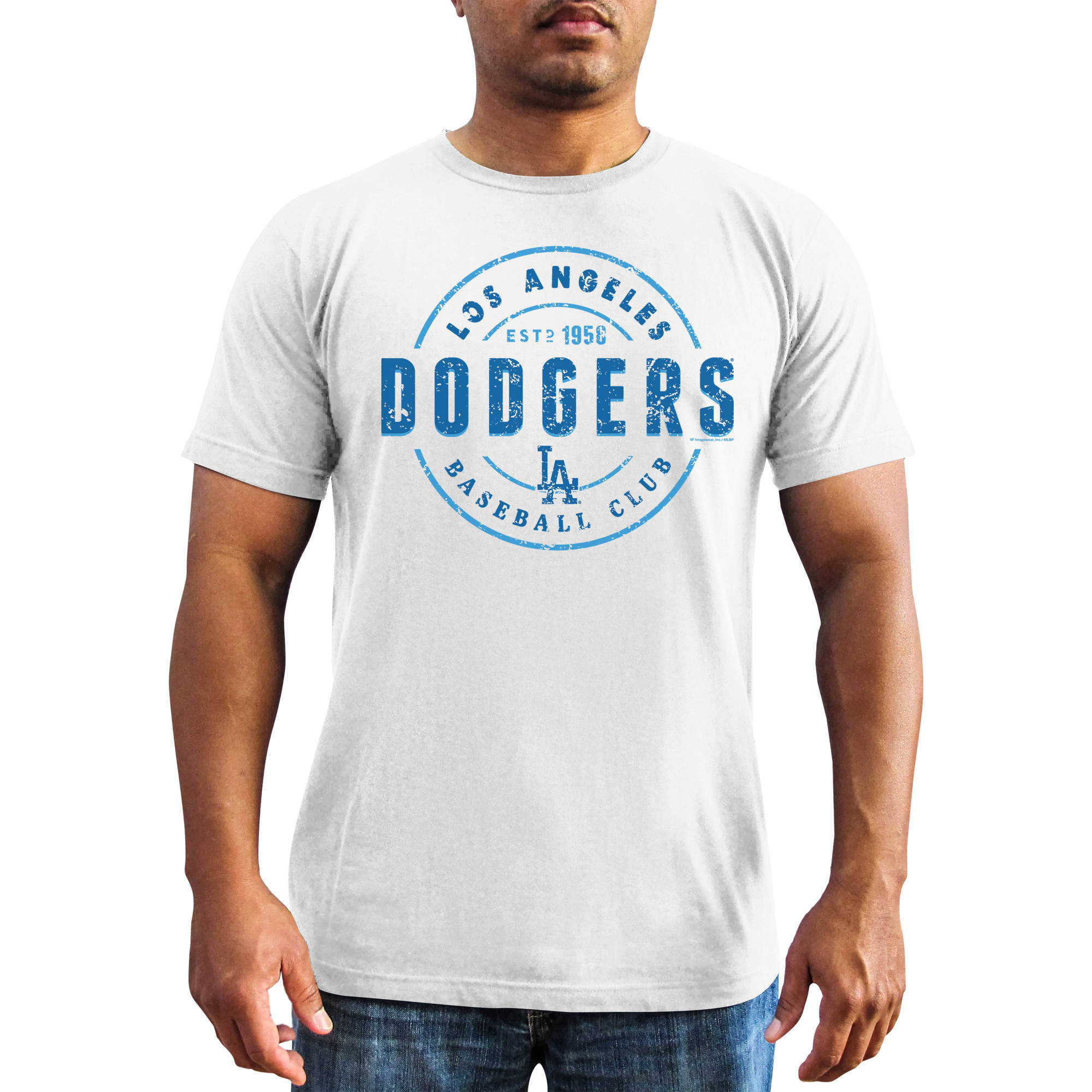 MLB - Big Mens Los Angeles Dodgers Short Sleeve Team Tee