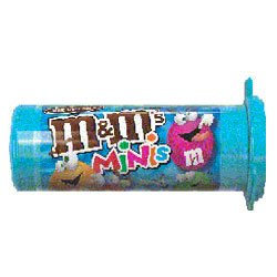 M&Ms Mini Milk Chocolate Candy Tubes (Pack of 2)