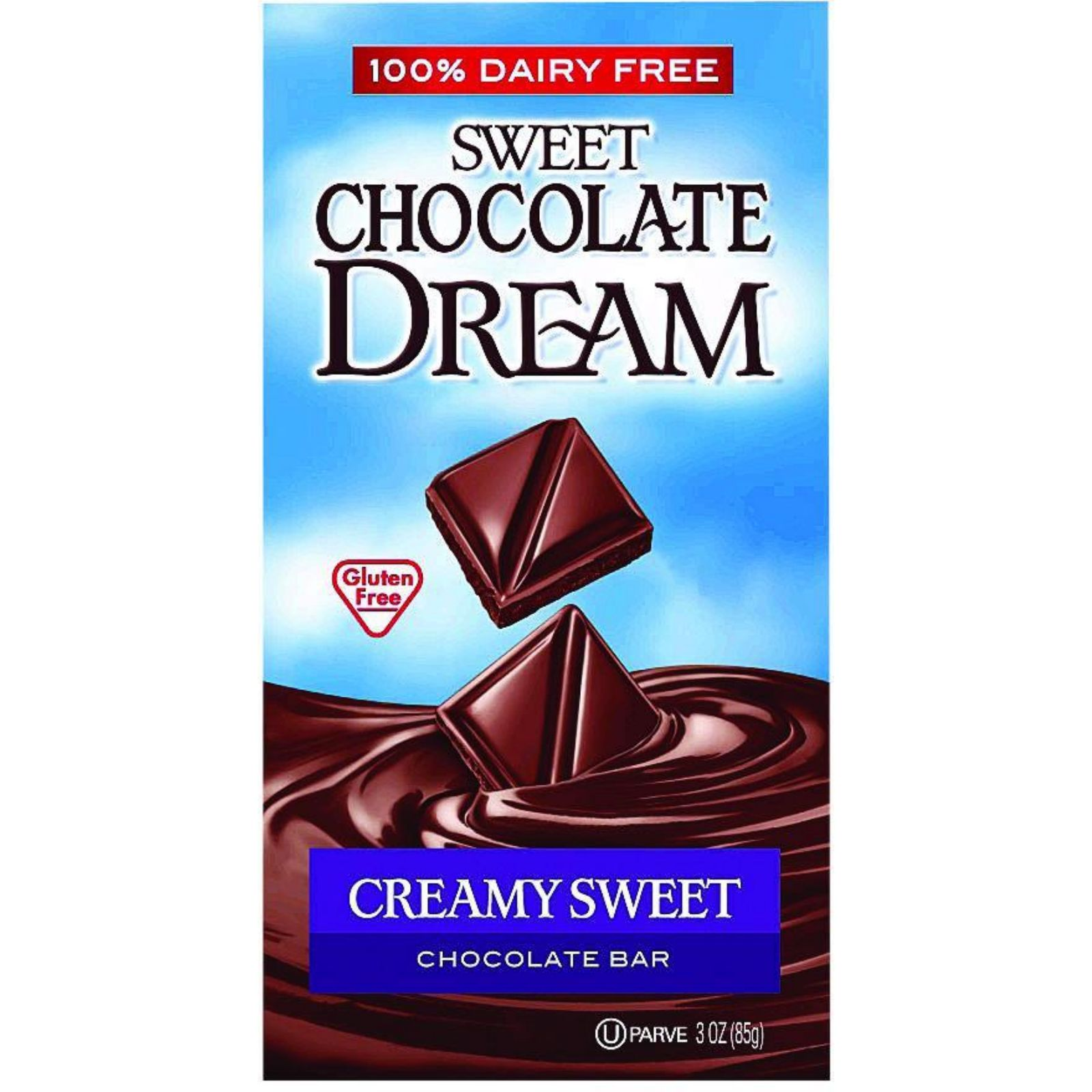 Dream Bar Chocolate Bars - 100 Percent Dairy Free - Sweet ...