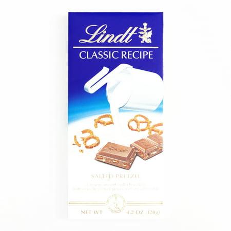 Lindt Salted Pretzel Milk Chocolate Bar  4.2 oz each (1 Item Per Order, not per - Chocolate Covered Pretzels Halloween Recipe