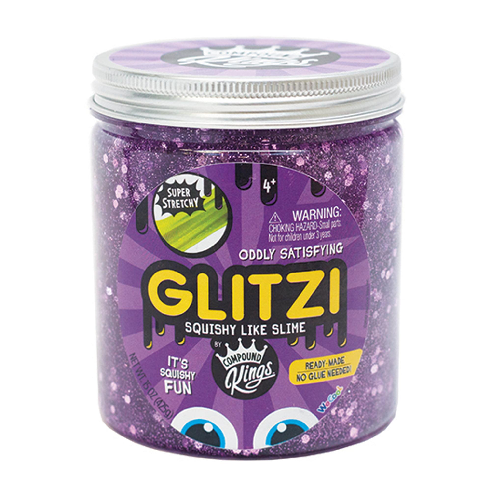WeCool Toys Glitzi Slime Jar Purple