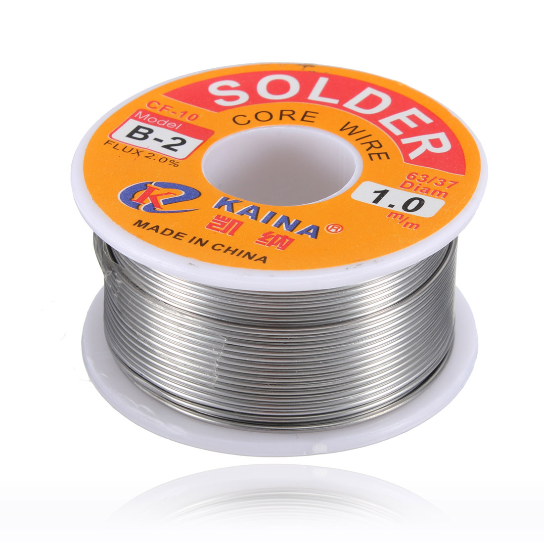 1mm 63/37 Flux 2% Rosin Core Tin Lead Line Solder Soldering Welding Iron Wire Flux Reel
