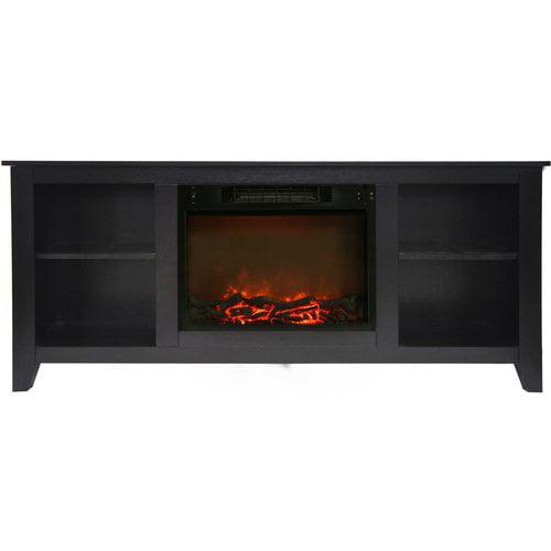 Alcott Hill Brook Hollow Electric Fireplace Tv Stand Walmartcom
