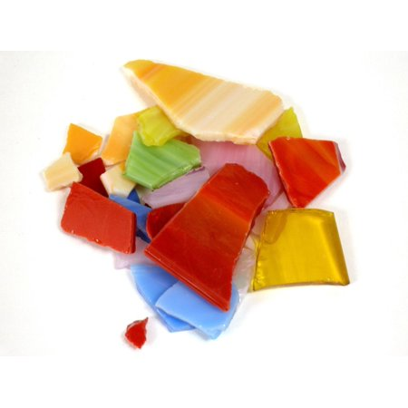 Tile and Mosaic Accessories bright stained glass pieces, 20 oz. (pack of 3)