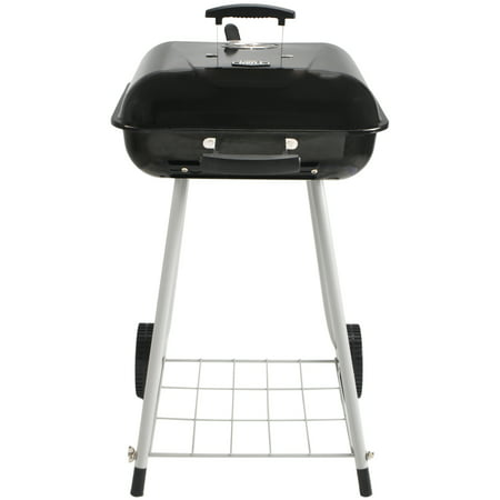 """Expert Grill 17.5"""" Charcoal Grill with Wheels, Black ..."""