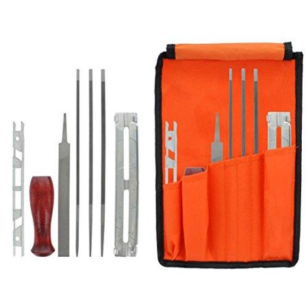 3 Piece Sharpening Kit - Chainsaw Sharpening & Filing Kit – Includes 5/32