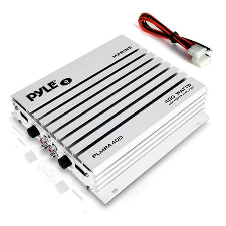 Pyle PLMRA400 - Elite Series Waterproof Amplifier, 400 Watt 4-Channel