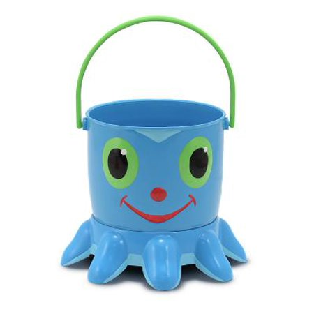 Melissa & Doug Sunny Patch Flex Octopus Sand Pail and Sifter (Melissa And Doug Sand Toys)