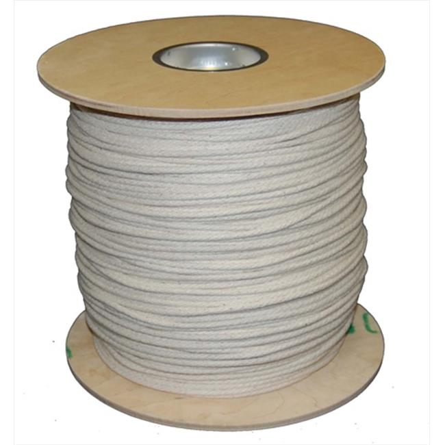 T. W.  Evans Cordage 46-071 Number 7 . 21875 inch x 1200 ft.  Buffalo Cotton Sash Cord Spool