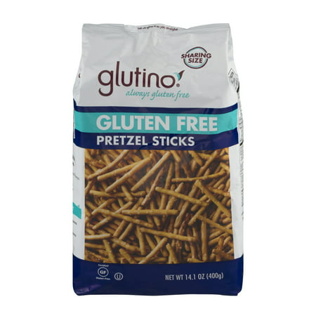 (3 Pack) Glutino Gluten Free Pretzel Sticks, 14.1 oz](Halloween Pretzel Snack Mix)
