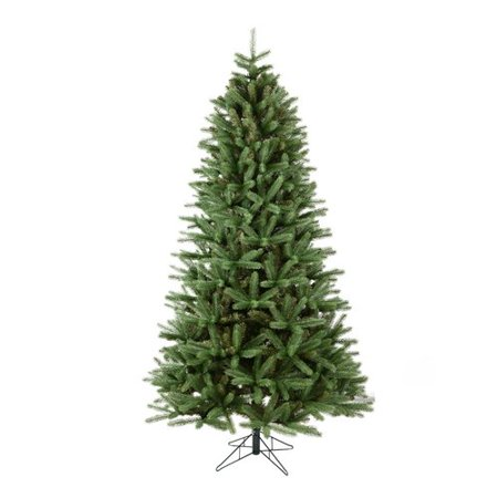 d5a33365e5f The Holiday Aisle 7.5  Spruce Slim Artificial Christmas Tree Unlit -  Walmart.com