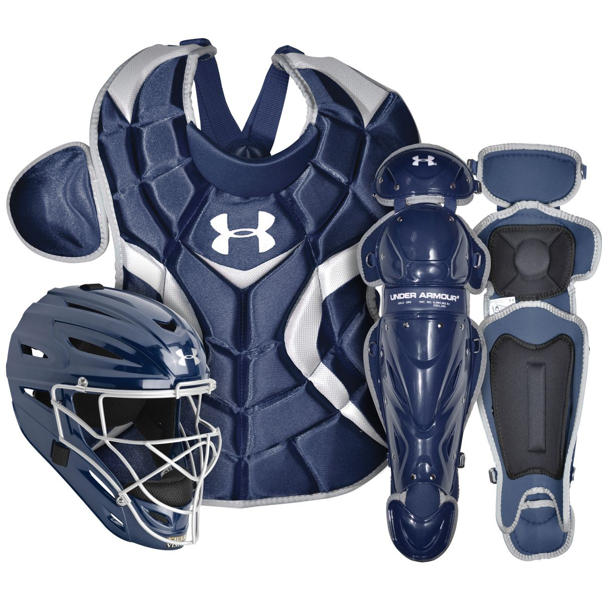 Under Armour Victory Series Senior Catchers Set UACK2-SRVS Navy by