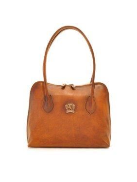edd4868c34cc Product Image Pratesi Womens Italian Leather Talla Top Handle Shoulder  Handbag in Cow Leather