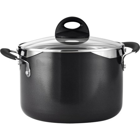 Tramontina 6 Quart Lock and Drain Charcoal Gray Pasta