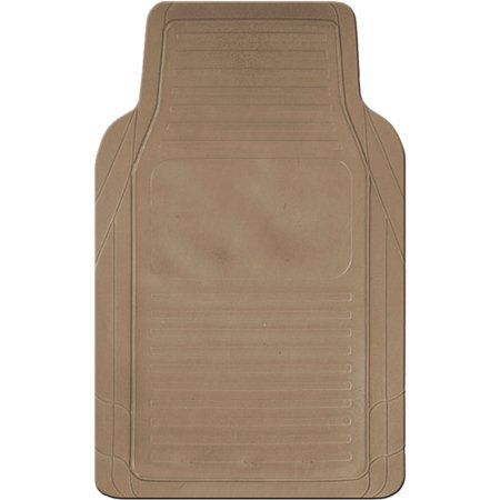 Kraco 4pc Basic Rubber Floor Mats Tan Walmart Com