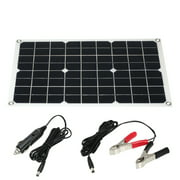 10W Flexible Solar Panel Battery Dual Output Solar Power Energy With USB Interface High Conversion Rate Solar Panel System