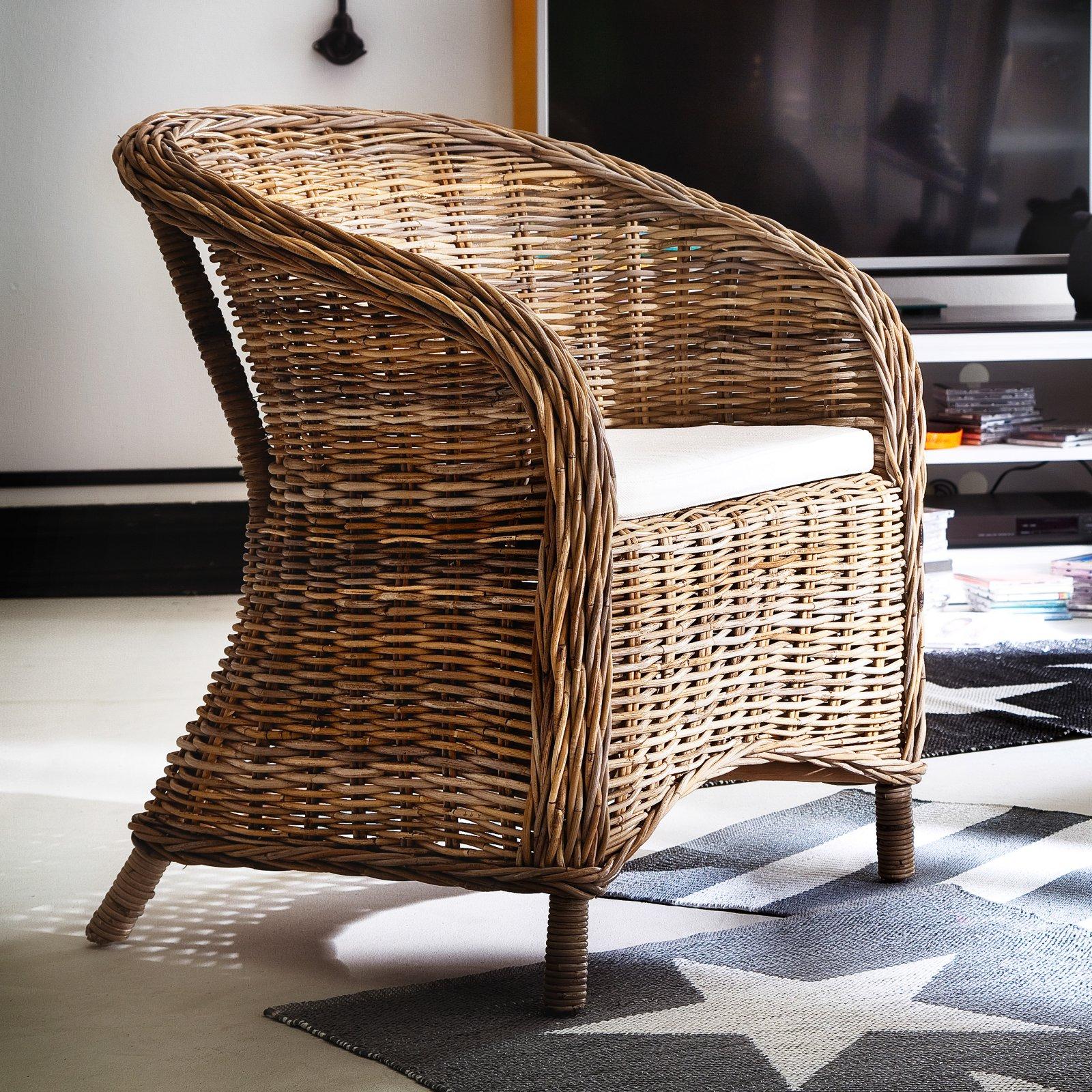 Nova Solo Wickerworks Bonsun Arm Chair - Set of 2